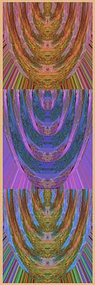 Daycare Art Mixed Media - Candle Stick Art Magic Graphic Patterns Navinjoshi Signature Style Art      by Navin Joshi