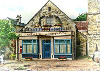 Candleford Post Office Art Print