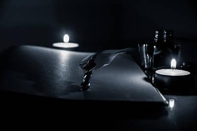 Photograph - Candlelight  by Andrea Mazzocchetti