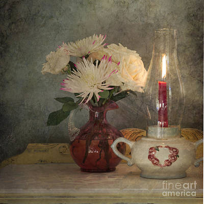 Candlelight Art Print by Betty LaRue