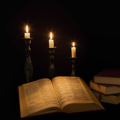 Photograph - Candlelight  by Bill Wakeley