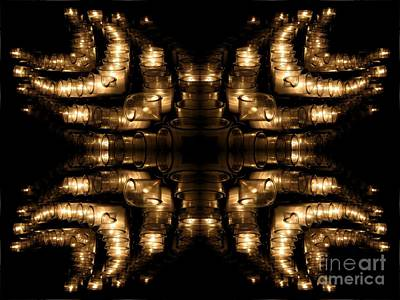 Photograph - Candles Abstract 1 by Rose Santuci-Sofranko