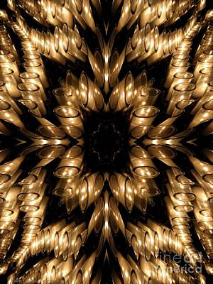 Photograph - Candles Abstract 5 by Rose Santuci-Sofranko