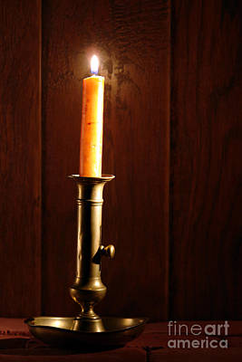Candlestick Photograph - Candlestick by Olivier Le Queinec