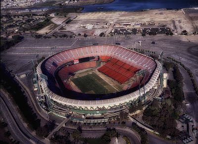 Candlestick Park Art Print by Mountain Dreams