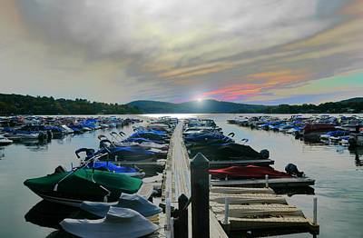 Candlewood Lake Art Print