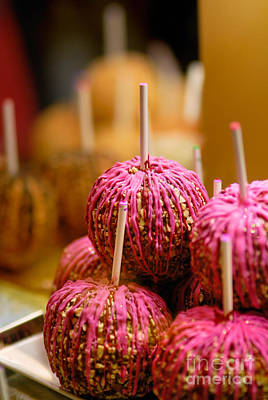 Nuts Photograph - Candy Apples by Amy Cicconi