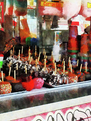 Photograph - Candy Apples by Susan Savad