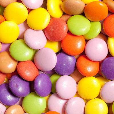 Royalty-Free and Rights-Managed Images - Candy background by Tom Gowanlock