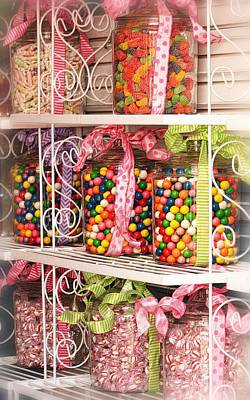 Photograph - Candy Candy Candy by Nadalyn Larsen