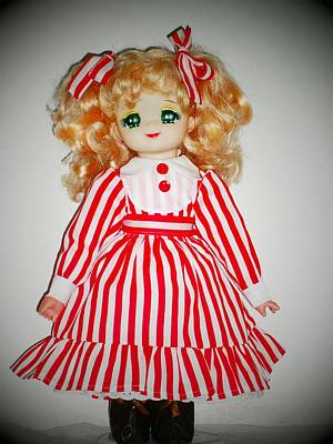 Candy Candy Doll Photograph - Candy Candy Doll With The New Dress  by Donatella Muggianu
