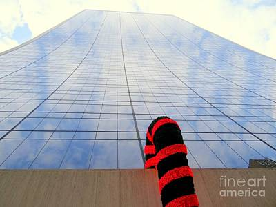 Photograph - Candy Cane Reflections by Ed Weidman
