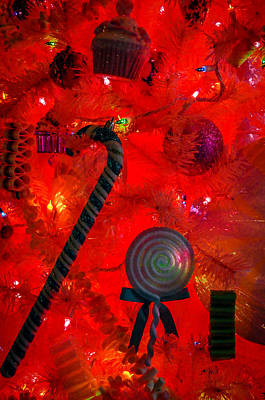 Photograph - Candy Christmas Tree by Gene Sherrill