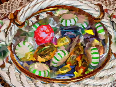 Photograph - Candy Dish by Kathleen Stephens