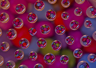 Candy Drops Art Print by Brendan Quinn