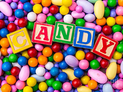 Child Photograph - Candy by Edward Fielding