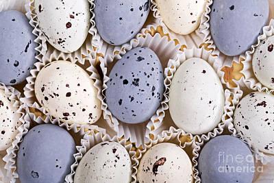 Candy Eggs Art Print