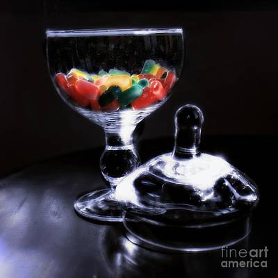Photograph - Candy Jar by Danuta Bennett