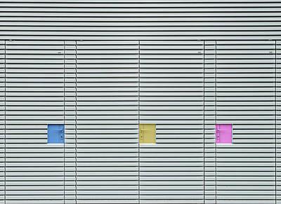 Candy Lockers. Art Print
