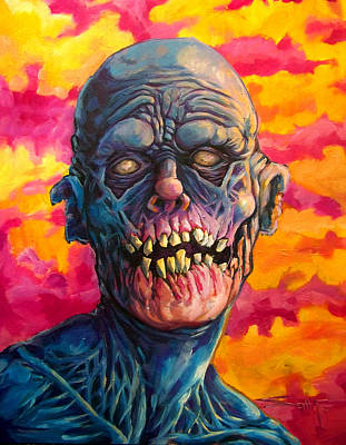 Insomniac Mixed Media - Candy Pop Apocalypse  by Seth Fyffe