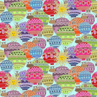 Candy Sky Art Print