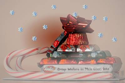 Photograph - Candy Sleigh by Maria Urso