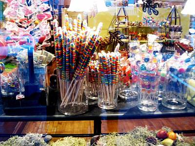 Candy Store 2 Art Print by Will Boutin Photos