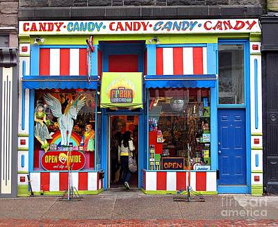 Photograph - Candy Store by Ethna Gillespie