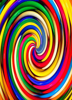 Candy Digital Art - Candy Swirl  by David Lee Thompson