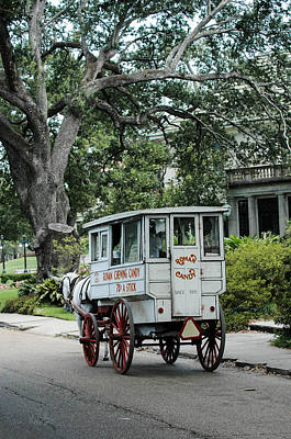 Candy Wagon In New Orleans Art Print by Pam Kaster