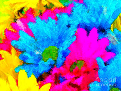 Digital Art - Candyland Colorful by Holley Jacobs