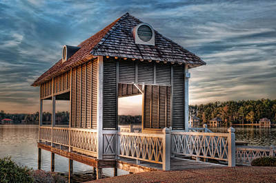 Photograph - Canebrake Boat House by Brenda Bryant