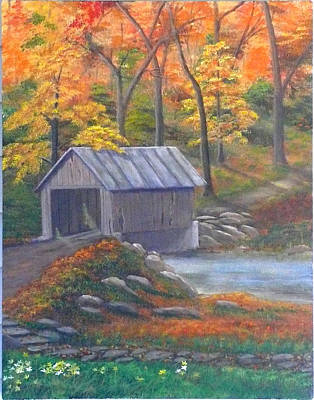 Caney Creek Art Print