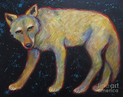 Painting - Canis Latrans  by Carol Suzanne Niebuhr