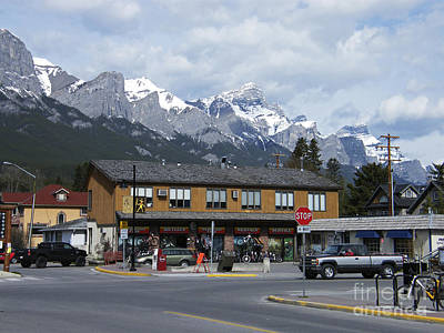 Photograph - Canmore - Alberta - Canada by Phil Banks