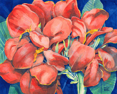 Painting - Cannas by Pauline Walsh Jacobson