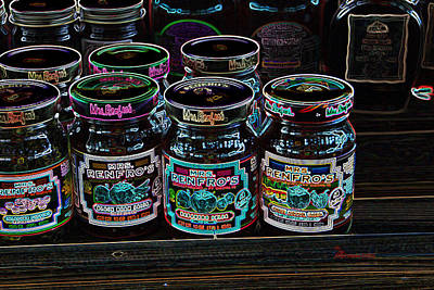 Photograph - Canned Goods by EricaMaxine  Price