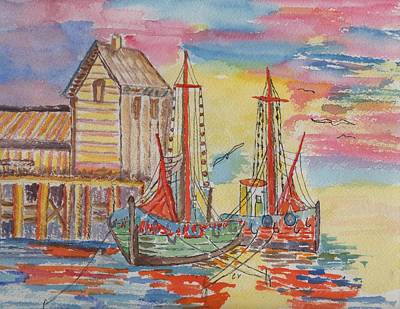 Cannery Row Original by Connie Valasco
