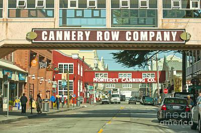 Cannery Row Monterey California Art Print