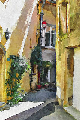 Cannes Mougins 3 Art Print