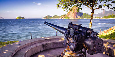 Photograph - Cannon At A Fort by Celso Diniz