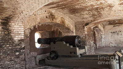 Cannon At Fort Sumter Original