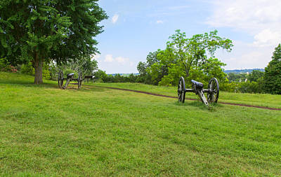 Photograph - Cannon At Fredericksburg by John M Bailey