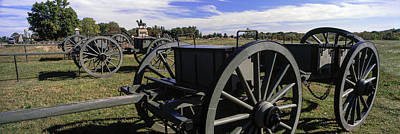 Gettysburg Photograph - Cannon At Gettysburg National Military by Panoramic Images