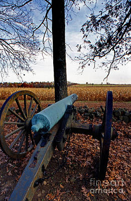 Photograph - Cannon  At Gettysburg by Skip Willits