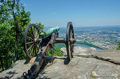 Art Print featuring the photograph Cannon At Point Park by Susan  McMenamin