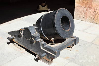 Cannon At San Francisco Fort Point 5d21489 Art Print by Wingsdomain Art and Photography