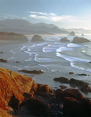 Photograph - Cannon Beach At Sunset - V by Ed  Cooper Photography