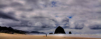 Photograph - Cannon Beach Panorama - The Oregon Coast by David Patterson