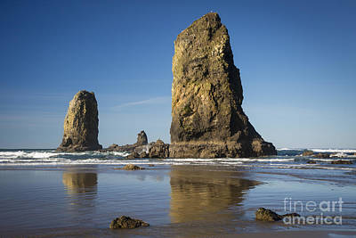 Photograph - Cannon Beach Rocks by Brian Jannsen